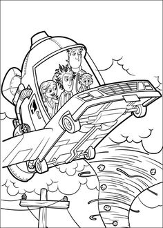 Cloudy with a Chance of Meatballs Coloring pages for kids. Printable. Online Coloring. 27