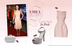 Emily Blunt - how ladylike.