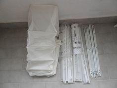 Ikea  4 Binari  in plastica +4 binari in metallo+1 salvaspazio in stoffa +fissaggi di affaryonline su Etsy