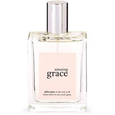Philosophy Amazing Grace Perfume/2 oz. (81 PEN) ❤ liked on Polyvore featuring beauty products, fragrance, perfume, beauty, makeup, filler, perfume fragrance, philosophy perfume, parfum fragrance and philosophy fragrance
