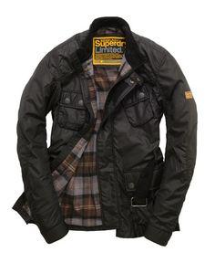 Superdry Nylon Time Trials Jacket