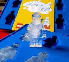 Lego Man Ice Cube – $7 Great for lego birthday parties and overall fun! Tray is 6 1/2″ by 4 1/2″ by 1/2″. Individual minifigure cubes are 1 1/2″ tall and 1″ wide. Great for making candy, crayons or ice!