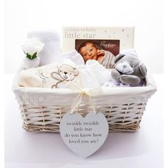 Twinkle Twinkle 'It's A Surprise' Baby Hamper Our neutral themed hamper is the perfect gift for a Mum and Dad to be, and is suitable for a Baby Boy or Baby Girl. £60.00