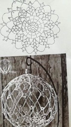 Best 12 farfalle's media content and analytics. Christmas Tree Hooks, Burlap Christmas, Christmas Baubles, Crochet Doily Rug, Crochet Ball, Christmas Crochet Patterns, Holiday Crochet, Handmade Ornaments, Diy Christmas Ornaments
