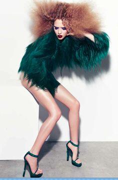 Happy 90th Gucci! DANSK AW11 Photographer: Bo Egestrøm / Creative Director: Uffe Buchard / Makeup: Anne Staunsager / Hair: Søren Bach / Model: Josephine Skriver wearing all GUCCI