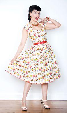 Bernie Dexter Rose Sundae dress