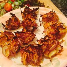 Onion Bhajis - Syn Free — Slimming World Survival & Recipes & Tips & Syns & Extra Easy Slimming World Curry, Slimming World Fakeaway, Slimming World Dinners, Slimming World Recipes Syn Free, Slimming World Taster Ideas, Slimming Eats, Healthy Eating Recipes, Cooking Recipes, Healthy Food