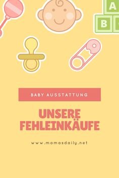 Babys Erstausstattung und unsere Fehleinkäufe dazu. Was man wirklich nicht benötigt...