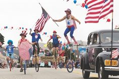 4th of July in San Luis Obispo County and the Central Coast!