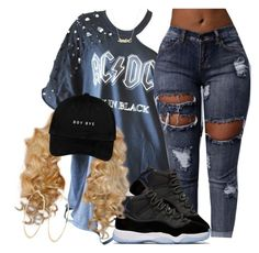 """""""Space Jams on my feet I'm on the moon"""" by tyrionnak ❤ liked on Polyvore featuring River Island and Marc by Marc Jacobs"""
