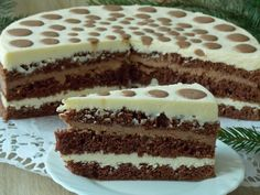 Polish Desserts, Polish Recipes, Cheesecakes, Cake Cookies, Sweet Recipes, Tiramisu, Nom Nom, Deserts, Food And Drink
