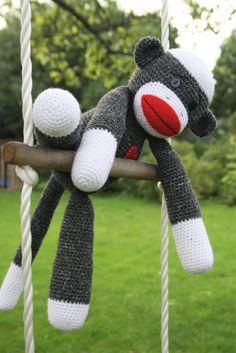Amigurumi Sock-monkey | lilleliis