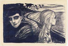 Edvard Munch - Loslösung, 1896