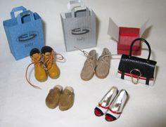Shoes in 1/12 scale by new Artisan member Patrizia Santi.