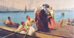 11 Etkileyici Tablosuyla İstanbul Ressamı Fausto Zonaro #resim #ressam #tablo #sanat #yağlıboya
