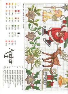 Cross-stitch Christmas Stuff, part 4... with the color chart... Gallery.ru / Фото #4 - Christmas - Auroraten