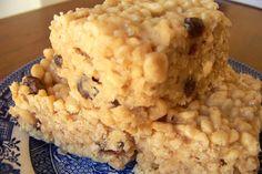 Sweet Treats - Butterscotch Rice Bubble Bars
