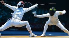 Image result for fencing epee