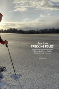 Trekking poles sure do come in handy for balancing a heavy pack or taking a load off your knees — but they really shine when it comes to navigating on all sorts of challenging terrain. On our blog we've shared some tips on how to tweak those poles to make sure you're getting the most possible support out of them in every condition and type of terrain.
