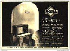 Radio Advertisement, Germany, 1930s