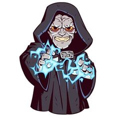 Join the dark side! #emperorpalpatine #starwars #starwarspins #starwarscelebration #dereklaufman
