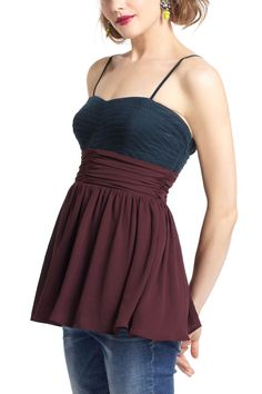 Skirted Cord Corset Top - Anthropologie.com     Copy this shape!