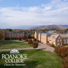 Roanoke College in Salem - a Fine Division III college    Check our website at durantvick.com for Roanoke Valley Real Estate information