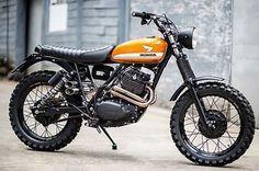 'Zandslee' Honda XL500. Vis Garage Project Motorcycles. #honda #motorcycle #scrambler #motorsports #tw
