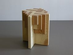 Parquet Table/Stool - San Francisco Bay Area Modern Furniture ...
