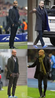 The BestDressed Football Managers FashionBeans is part of Bald men style - Mode Masculine, Pep Guardiola Style, Football Dress, Football Casuals, Stylish Men, Men Casual, Bald Men Style, David Beckham Style, Bald Man
