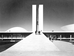 Modernism. National Congress of Brazil / Oscar Niemeyer.