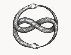 #tattoo #uroboros Este es mi primer diseño para un tatuaje. Es un uroboros inspirado en el Áuryn, símbolo que representa la relación entre el mundo real y de fantasía.