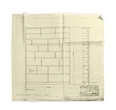 Molteni&C   D.357.1 bookshelf design Gio Ponti