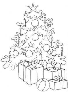 Christmas coloring pages  Auf coloringbook4kids.com