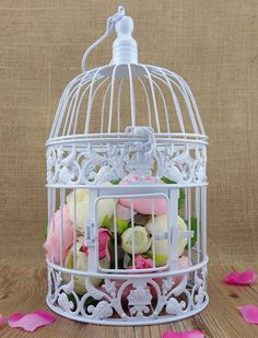 Cheap Bird Cage Buy Quality Metal Directly From China Decorative White Birdcage Suppliers Small Vintage Iron Antique