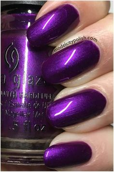 Do you like purple nail design? If you decide to use purple youre in the right place. We all heard that different colors have different meanings. Purple represents mystery passion gentleness romance and elegance. Today we have collected 64 tr Purple Nail Art, Purple Nail Designs, Purple Nail Polish, Colorful Nail Designs, Nail Polish Colors, Nail Art Designs, Nails Design, Purple Toe Nails, Pastel Nail
