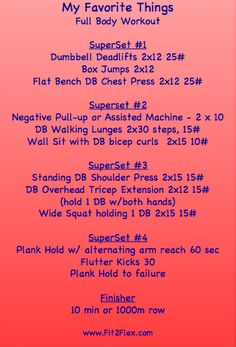 Full body strength workout to #getfit via @CarissaAnneB #fitfluential