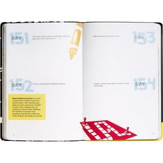 inside look at the 365 Daily Creativity Journal... doing something creative everyday is good for the soul!