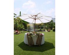 Montaje de mesa de novios / Jardín de Cortés / Jardín para boda / Morelos