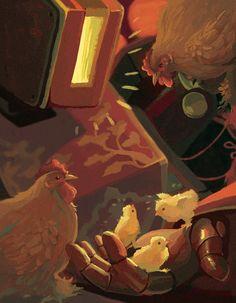 Overwatch Bastion fanart by cryskir on Tumblr