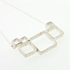 square necklace - Google Search
