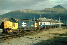 Scottish Region photos - UK Prototype Discussions (not questions! Electric Locomotive, Diesel Locomotive, Steam Locomotive, Buses And Trains, Old Trains, Kyle Of Lochalsh, Rail Train, Train Room, British Rail