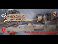 Vlog 002 Die Restauration hat begonnen!!! - YouTube Youtube, Hats, Lathe Chuck, Work Shop Garage, Crafting, Hat, Youtubers, Hipster Hat, Youtube Movies