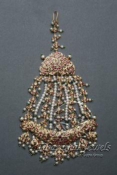 Kundan Jadai Jhoomar | Tibarumal Jewels | Jewellers of Gems, Pearls, Diamonds, and Precious Stones: