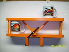 ORANGE Airplane Shelf // Aviation Wall Decoration // Kids Room Furniture and Accessories *** Check out this great product. (This is an affiliate link and I receive a commission for the sales) #FloatingShelves