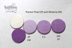 Premo! Pearl and Wisteria mixes