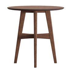 Flournoy Danish Mod Tapered Leg Accent Table - Inspire Q®
