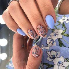 Pastel Blue Nails, Blue Gel Nails, Acrylic Nails, Coffin Nails, Red Nail, Classy Nail Designs, Fall Nail Designs, Classy Nails, Fancy Nails