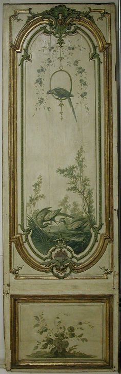 Door panel Manner of Jean-Baptiste Oudry (French, Paris 1686–1755 Beauvais)…