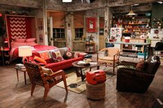 2 Broke Girls : L'appartement de Max et Caroline
